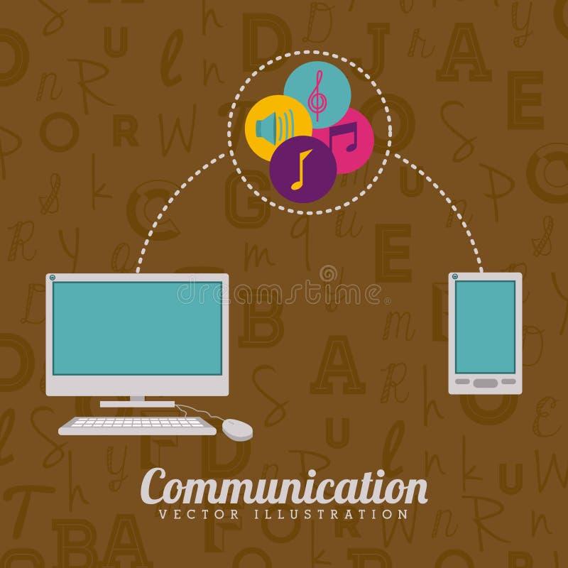 Technologia projekt ilustracji