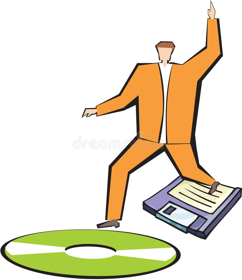 Download Technological advancement stock illustration. Image of development - 16320573