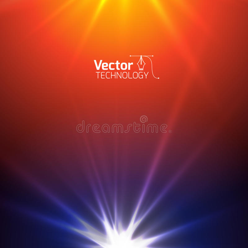 Free Technological Background With The Radiance Royalty Free Stock Images - 63504199
