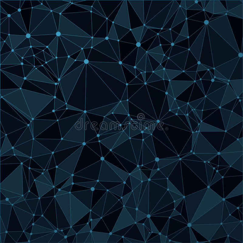 Free Technological Black Background With A Pattern Of Stock Photos - 57657113