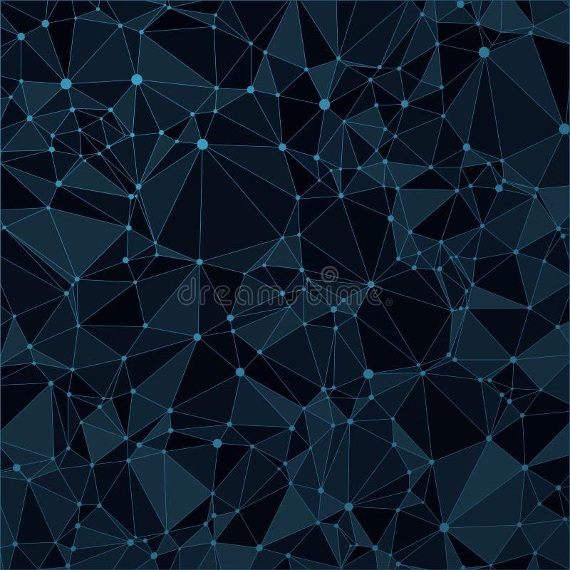Download Technologiczny Czarny Tło Z Wzorem Ilustracja Wektor - Ilustracja złożonej z pokrywa, ilustracje: 57657113