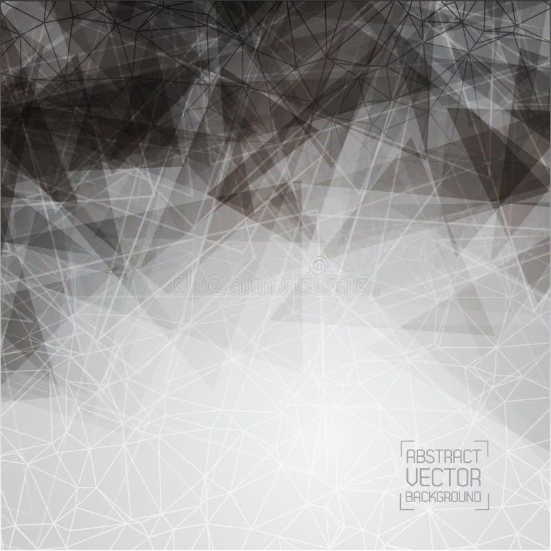 Download Technologiczny Monochromatyczny Tło Z Wzorem Ilustracja Wektor - Ilustracja złożonej z fractal, nowożytny: 57661072