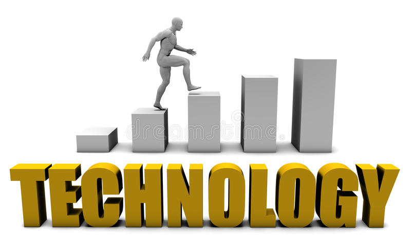 technologie illustration stock