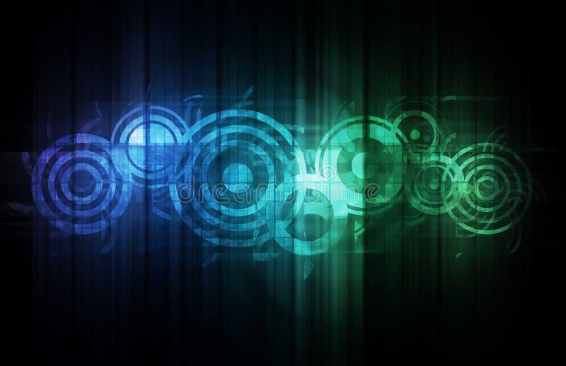 Technologie abstraite illustration de vecteur