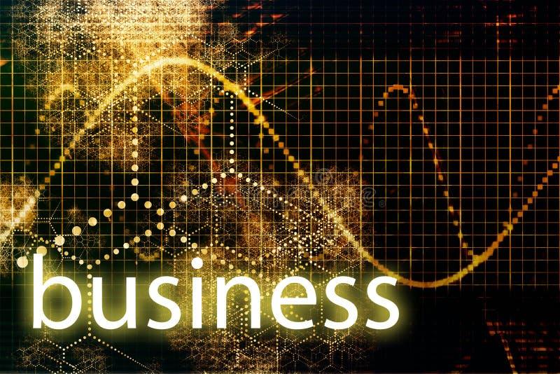 Technologie abstraite d'affaires illustration stock