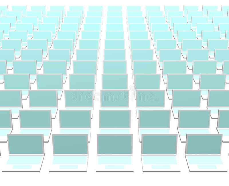 technologie abstraite d'ordinateurs de gestion de fond illustration stock
