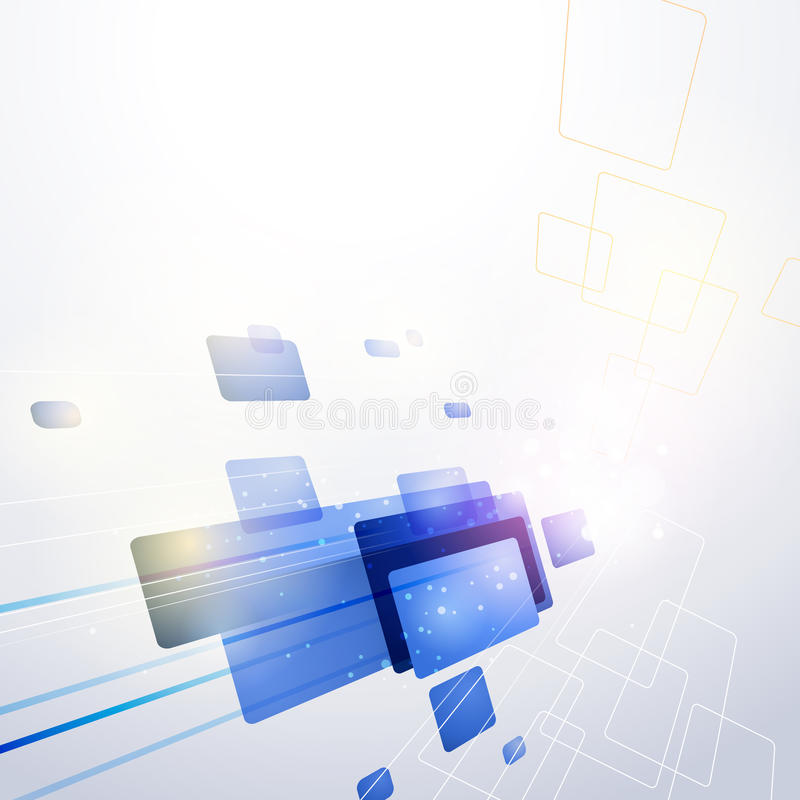Technologie-abstrakter Hintergrund stock abbildung