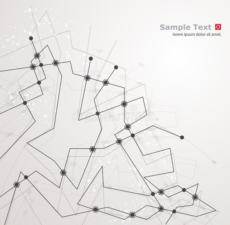 Technologie-achtergrond vector illustratie