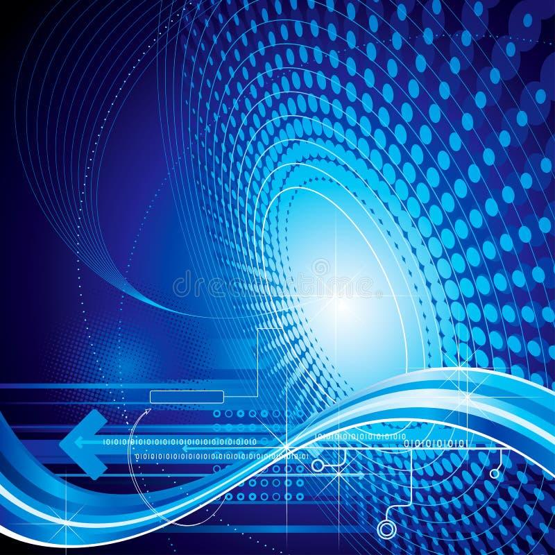 Technologie-Auszug lizenzfreie abbildung