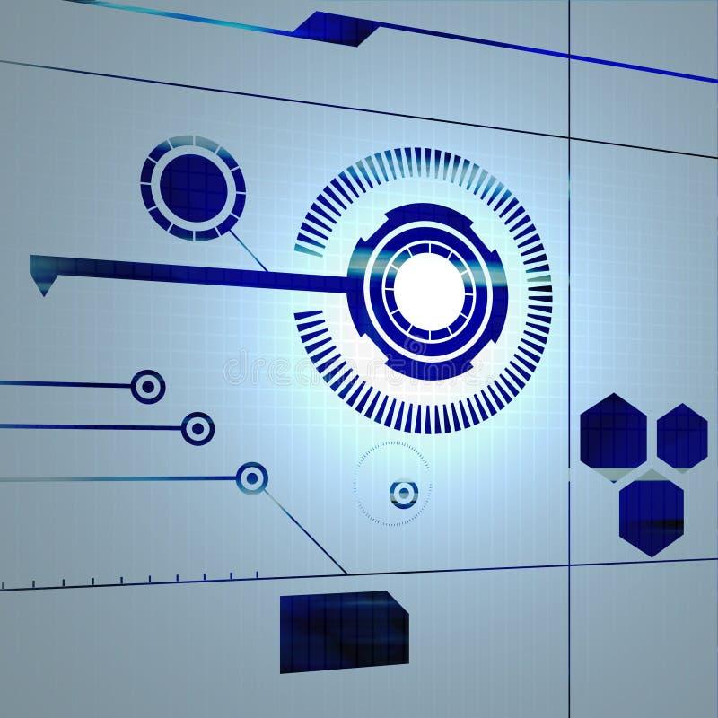 Technologie Connectivty vector illustratie