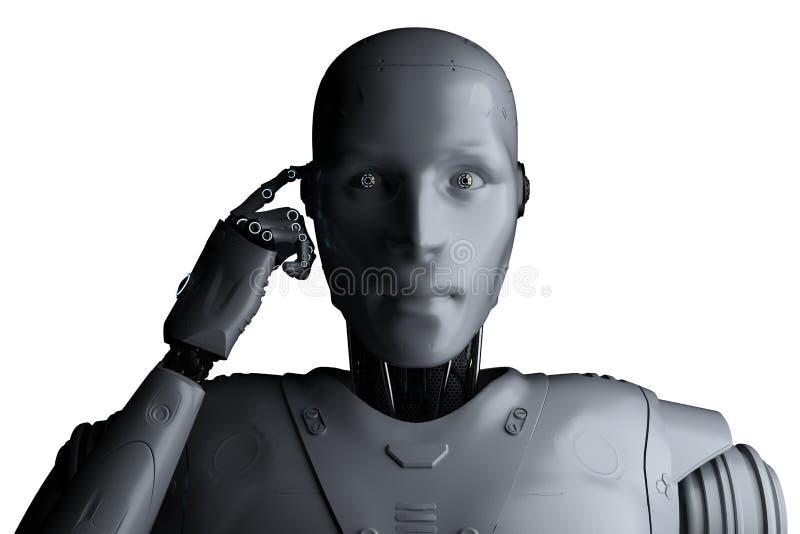 Technologie d'analyse d'automation illustration de vecteur