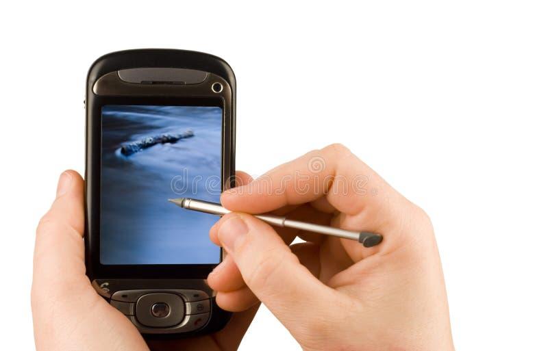 technologie d'appareil de communication d'affaires images stock