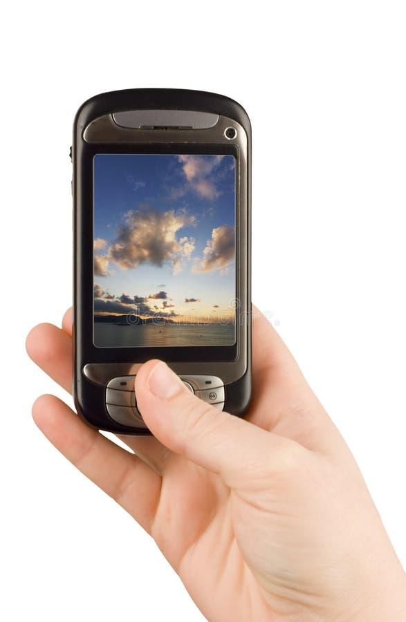 technologie d'appareil de communication d'affaires photographie stock