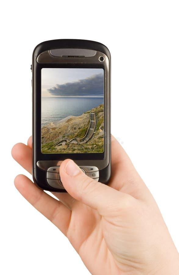 technologie d'appareil de communication d'affaires photo stock