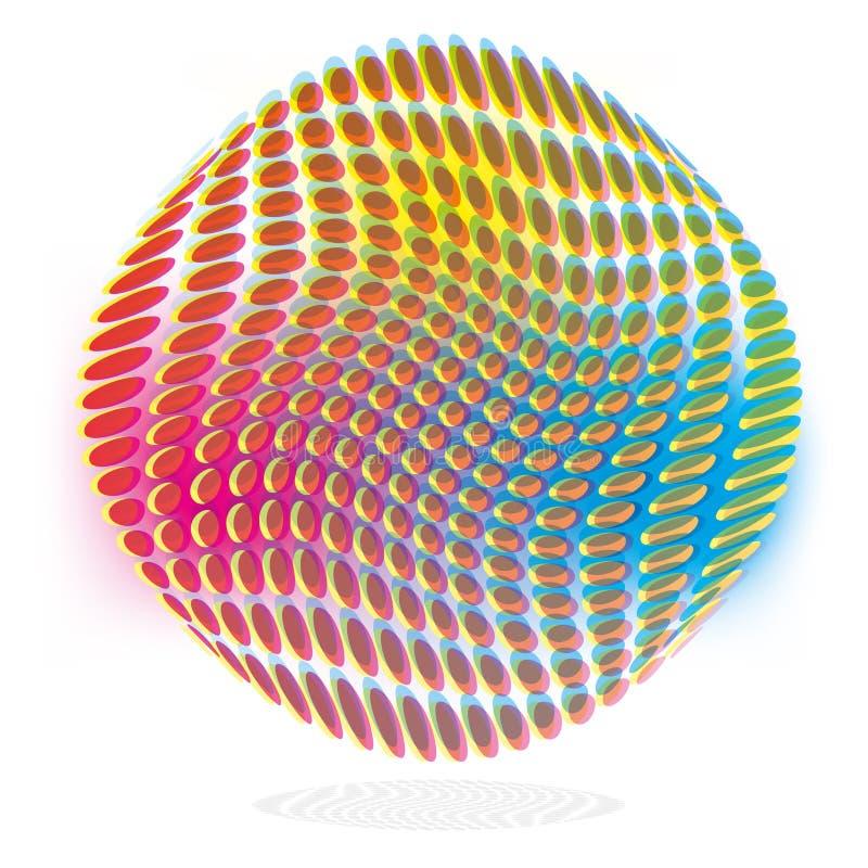 Technologie d'impression et encre d'imprimerie illustration stock