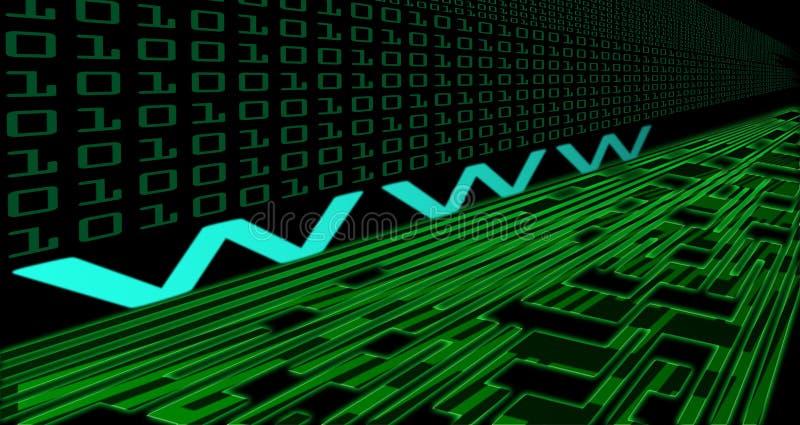 Technologie d'Internet illustration de vecteur