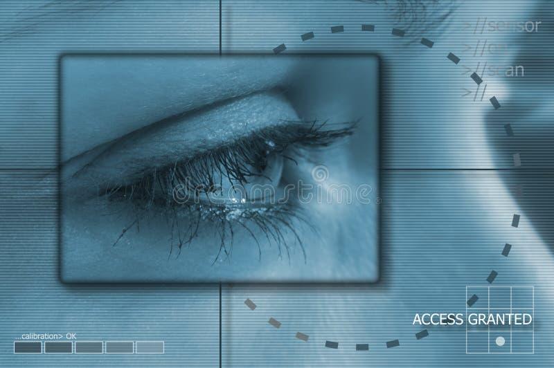 Technologie d'oeil illustration libre de droits