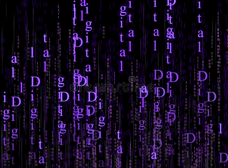 Technologie de Digitals illustration libre de droits