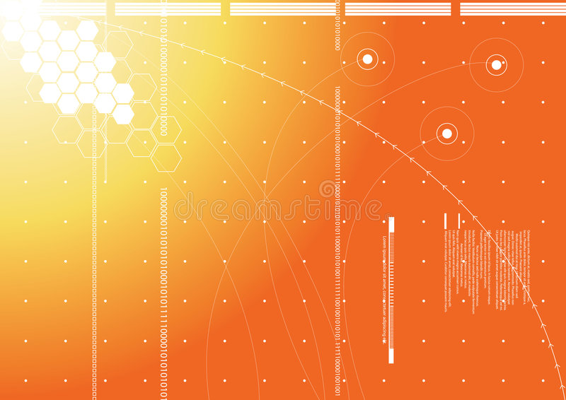 technologie de fond illustration libre de droits