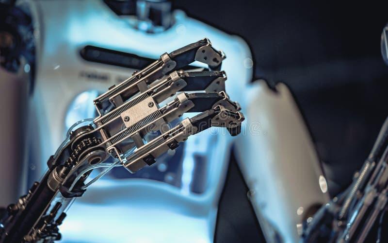 Technologie de mécanisme de main de robot industriel photos libres de droits