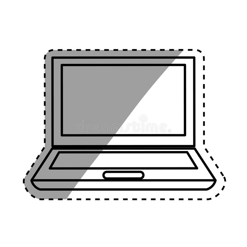 Download Technologie De PC D'ordinateur Portable Illustration Stock - Illustration du écran, bureau: 87703557