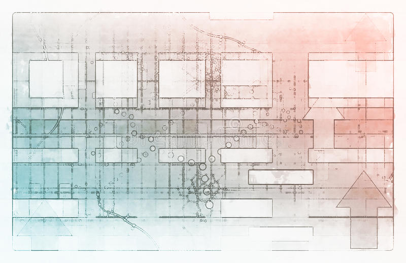 Technologie de pointe illustration stock