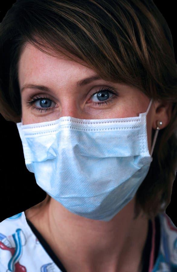 Technologie dentaire avec le masque photos libres de droits
