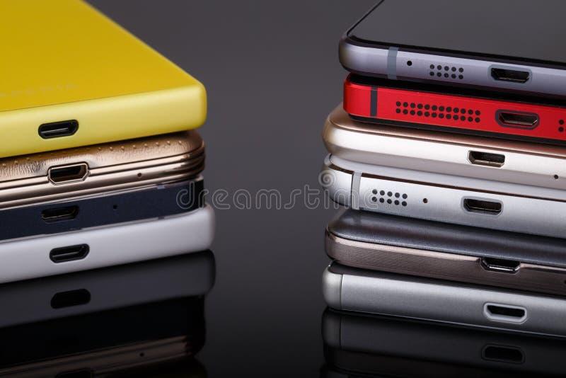 Technologie des communications sans fil de téléphone portable photos libres de droits