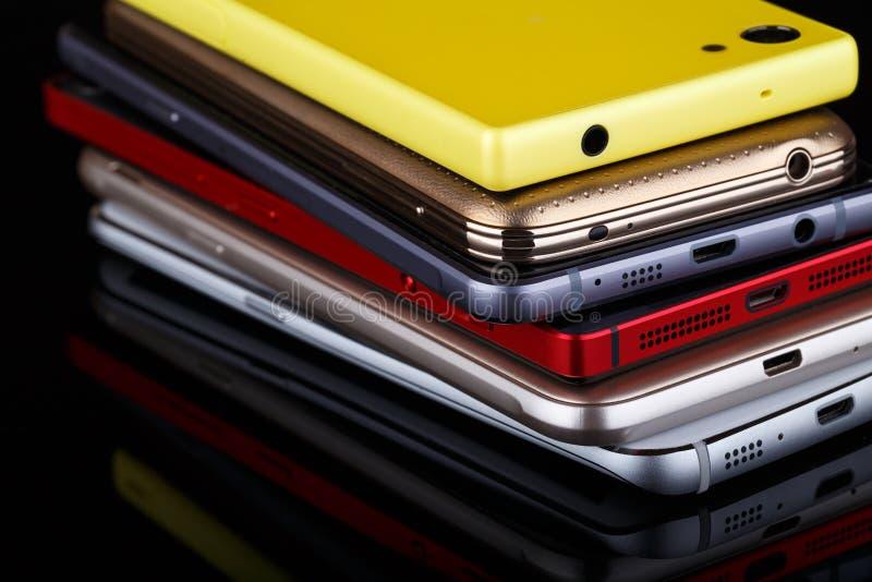 Technologie des communications sans fil de téléphone portable photographie stock