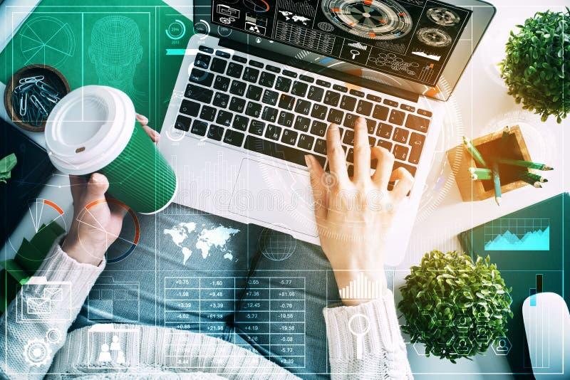 Technologie en communicatie concept royalty-vrije stock afbeelding
