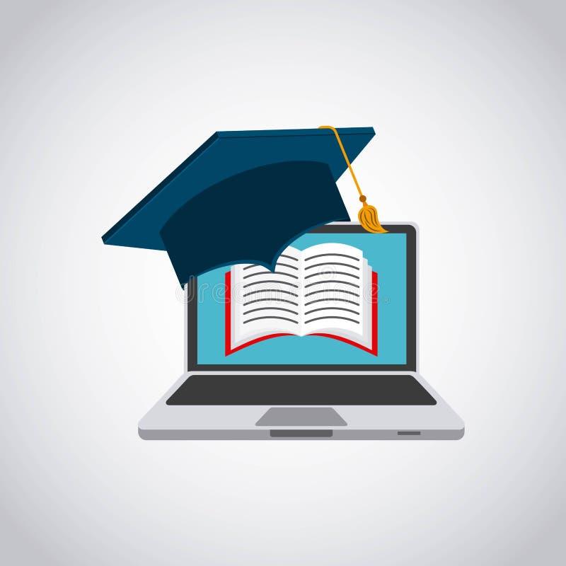 technologie en onderwijsontwerp royalty-vrije illustratie