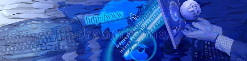 Technologie en snelle aanslutingen royalty-vrije stock afbeelding