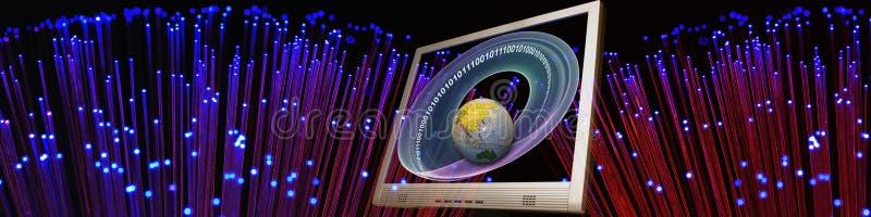 Technologie et accès au monde image libre de droits