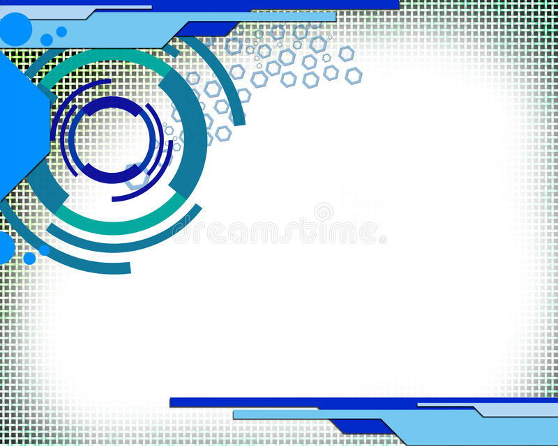 Technologie foncée illustration stock
