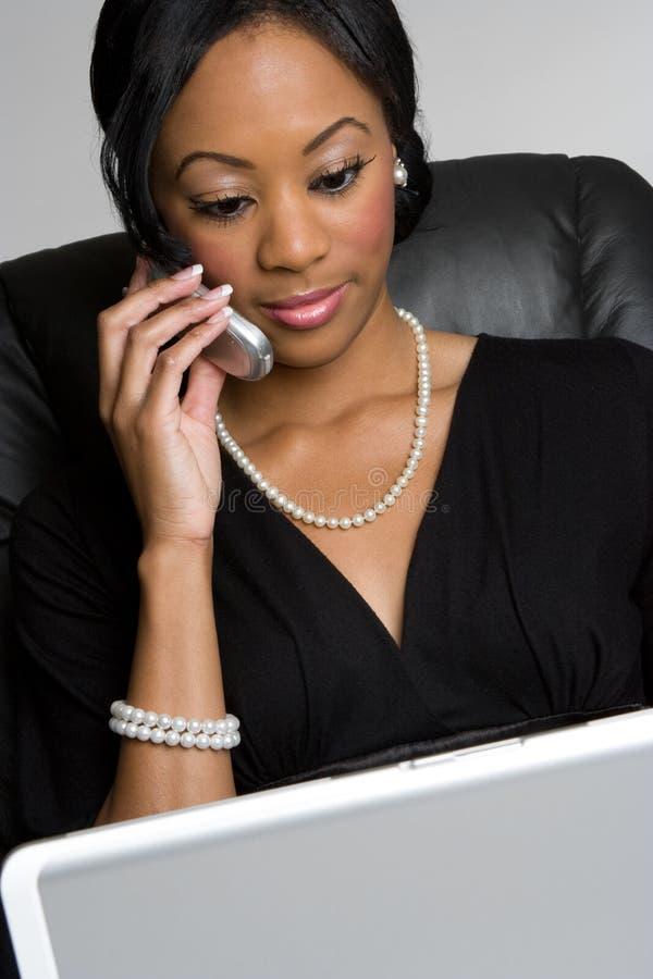 Technologie-Frau stockfotos