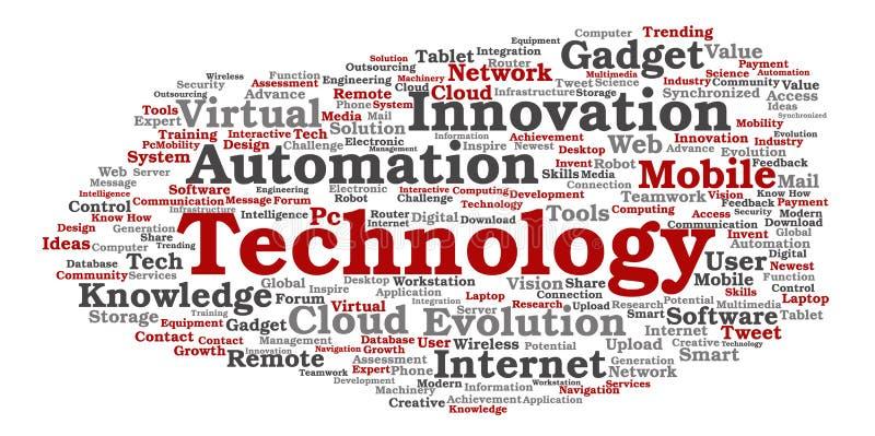 Technologie futée numérique de vecteur, media d'innovation illustration libre de droits