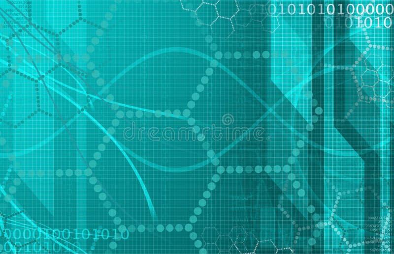 Technologie futuriste de la Science médicale comme art image libre de droits