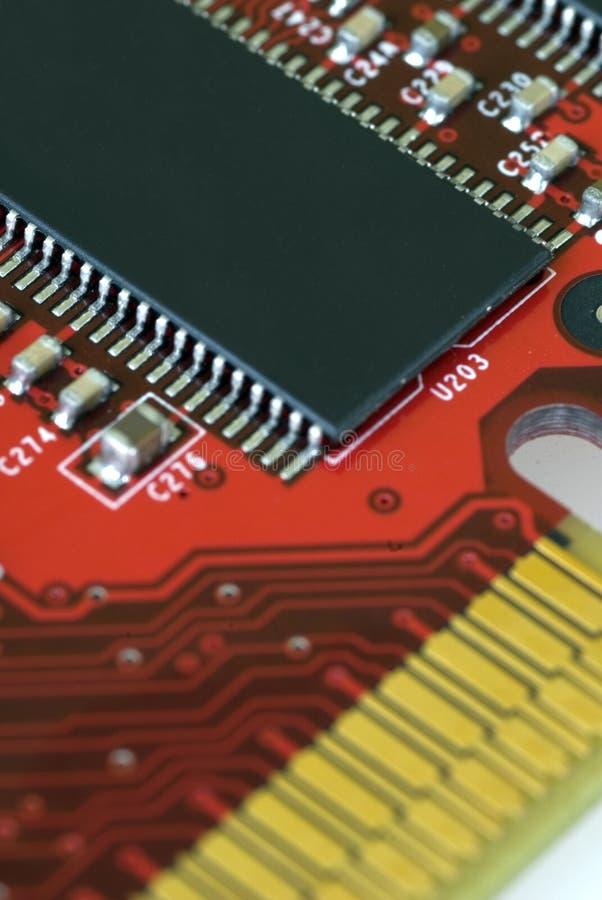 Technologie - Grafikkarte lizenzfreie stockfotografie