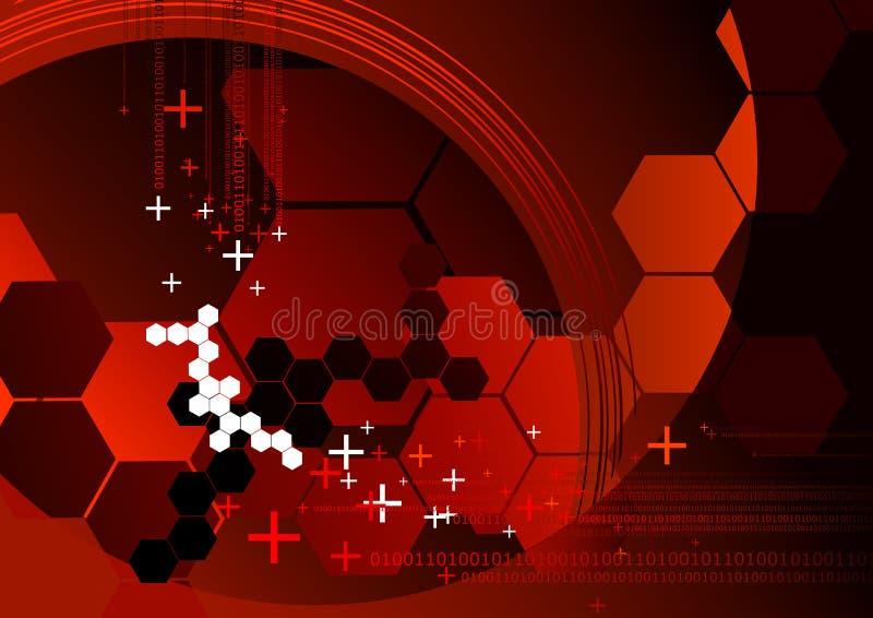 Technologie-Hintergrund stock abbildung