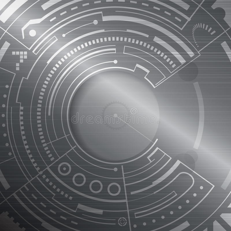 Technologie-Hintergrund stockfotografie