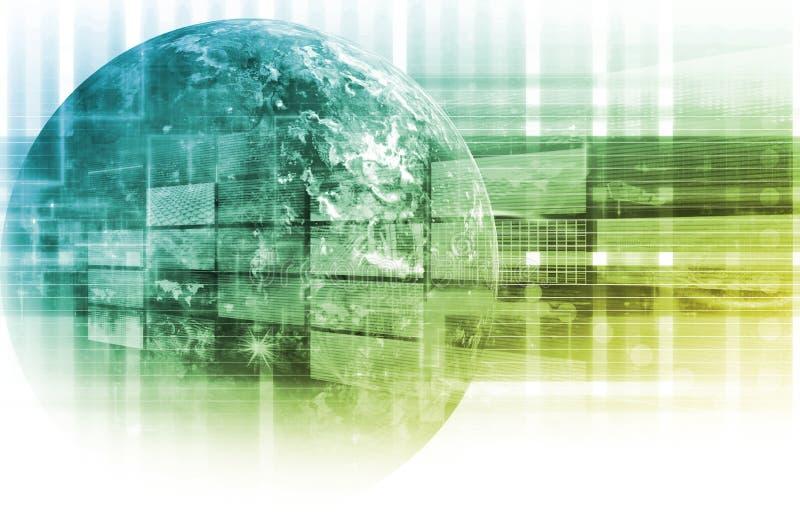 technologie informacyjne royalty ilustracja