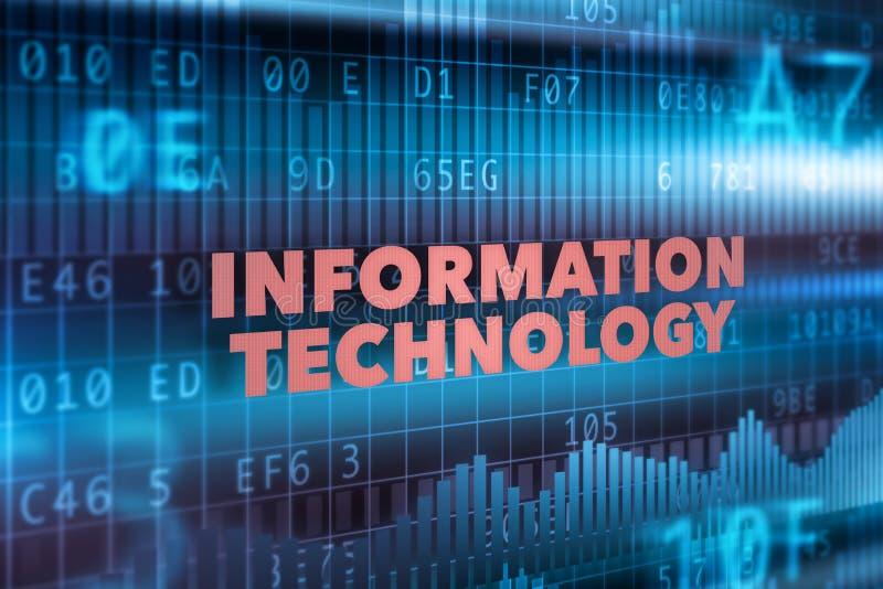 Technologie informacyjne pojęcia tło ilustracja wektor