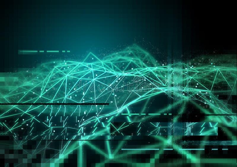 Technologie informatique illustration libre de droits
