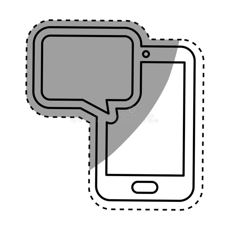 Download Technologie Mobile De Smartphone Illustration Stock - Illustration du données, divertissement: 87703622