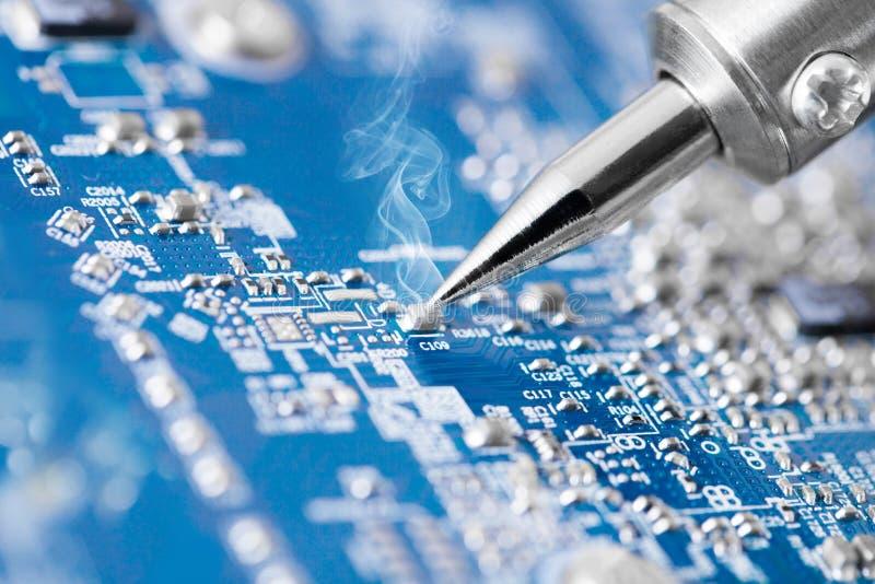 Technologie moderne et toutes les choses associées image stock