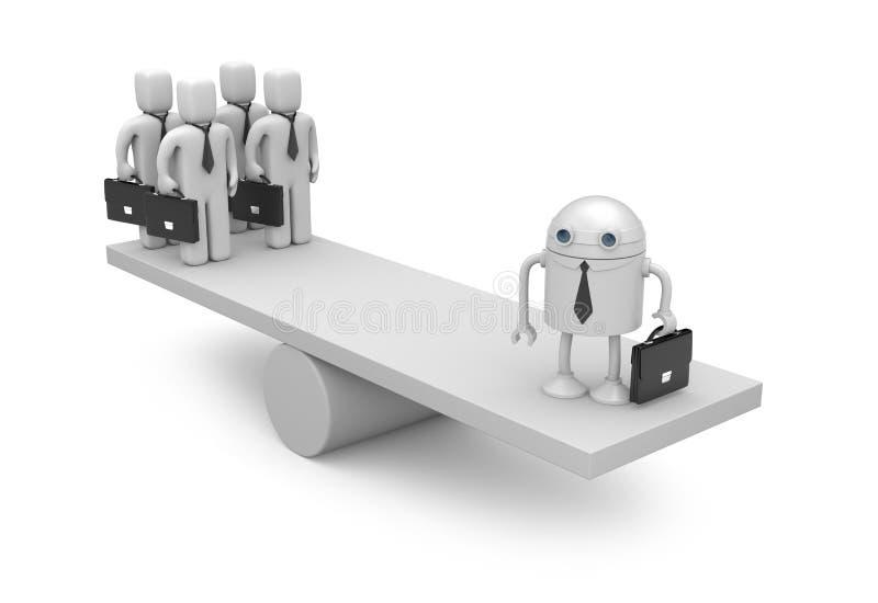 Technologie neuve dans les affaires illustration de vecteur