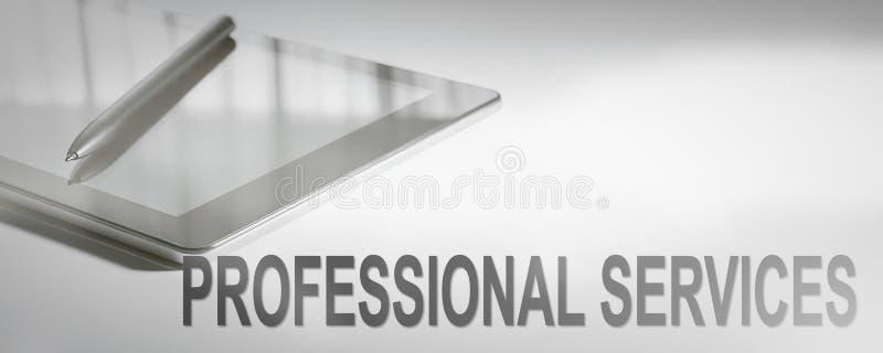 Technologie numérique de concept d'affaires de SERVICES PROFESSIONNELS images stock