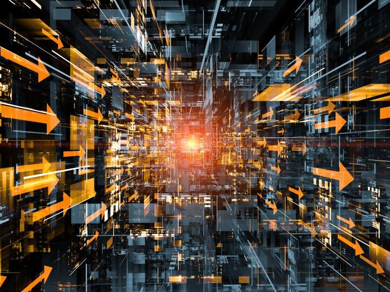 Technologie-Platz stockfotos