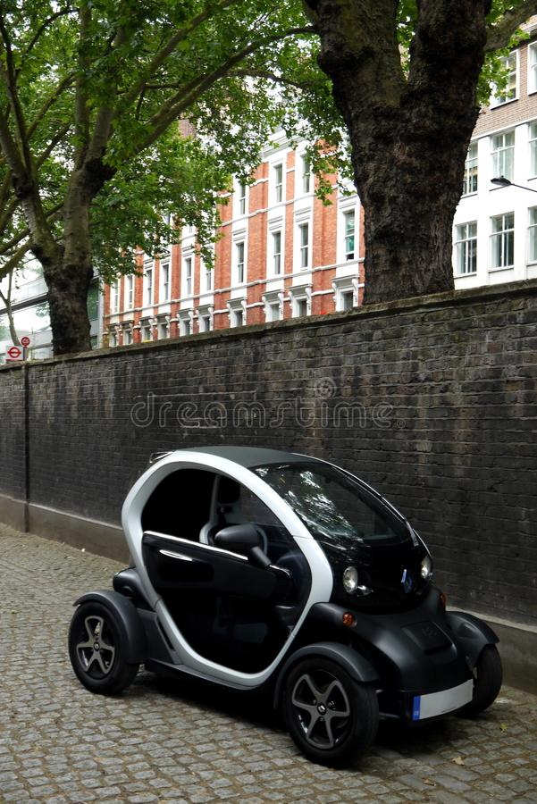 Technologie: Renault-Elektroauto lizenzfreies stockbild