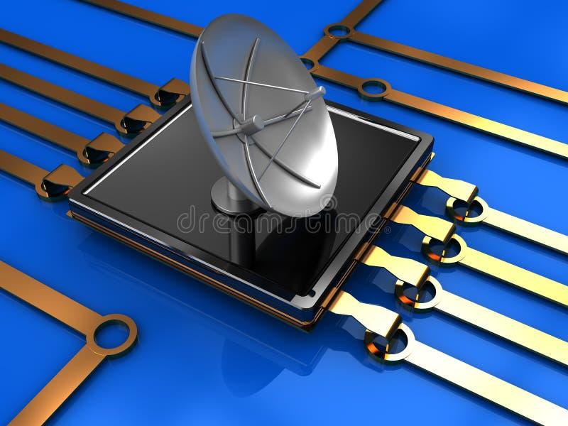 Technologie sans fil illustration stock